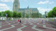 """De gemeente Arnhem werkt aan een lege, autovrije Markt. """"Onverstandig"""", aldus binnenstadsbewoners."""