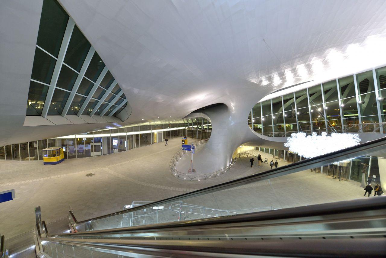 Een terugblik op de bouw van arnhem centraal arnhem - Hal ingang ontwerp ...